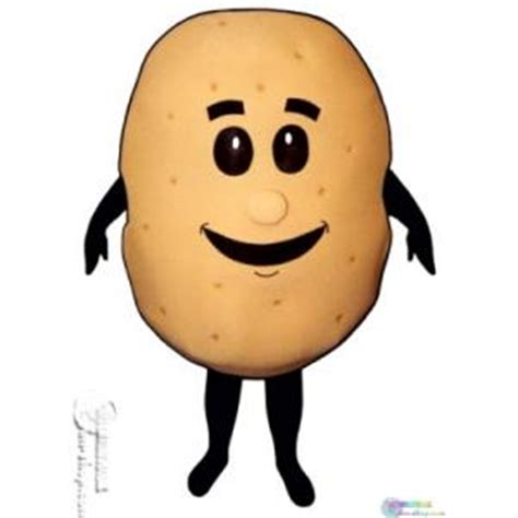 Potato Costume by Baked Potato Mascot Costume International Shop