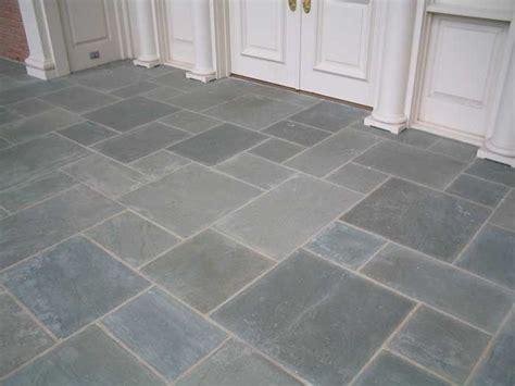 bathroom belgian blue stone floor   love the stone against