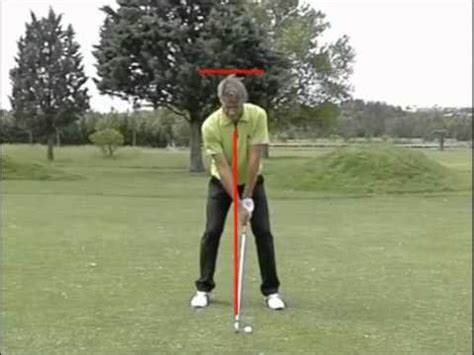 golf swing watch golf swing au ralenti sur golf academy tv youtube