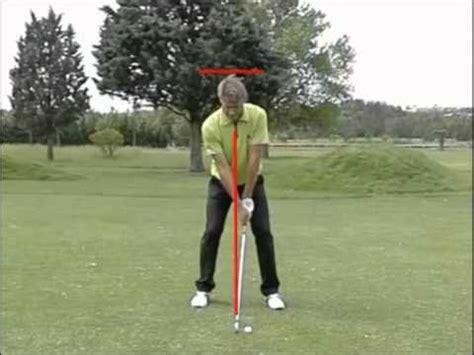 swing de golf golf swing au ralenti sur golf academy tv youtube