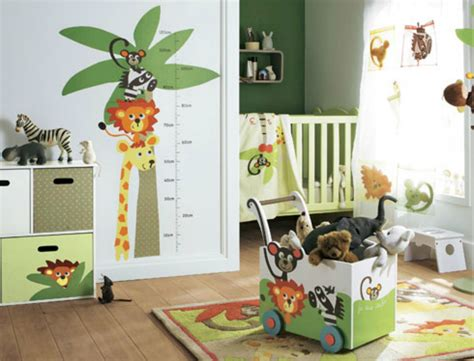 chambre jungle enfant d 233 coration chambre b 233 b 233 jungle bebe