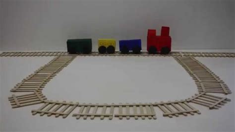 Railroad Point Right Paper Craft how to make a and tracks arts and crafts project for