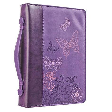 Purple Butterflies Bible Book Cover 2 Corinthians 5 17
