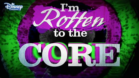 printable lyrics to rotten to the core descendants 2015 rotten to the core sheet music piano notes