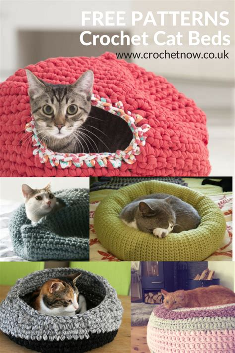 crochet cat bed free crochet cat bed patterns to make cat caves donuts pouffes and igloos