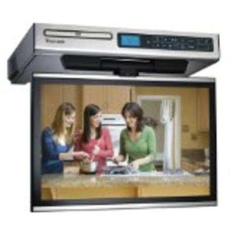 kitchen cabinet tv best under cabinet tvs for kitchen tv dvd combo or tv