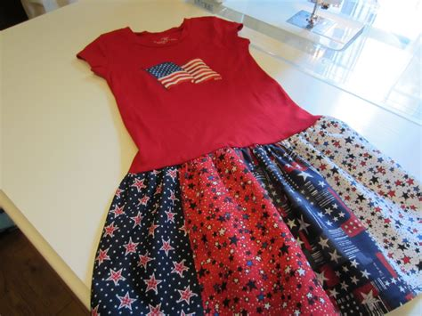 T Shirt Patchwork Quilt - my patchwork quilt patriotic t shirt dresses