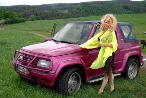 Pink Suzuki Vitara Suzuki Vitara Philippe Cousteaux Magenta Pink Neue