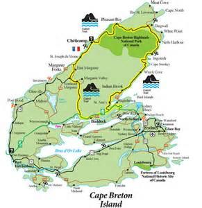 map of scotia and cape breton island