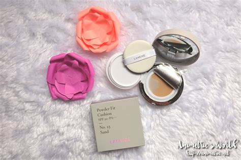 Laneige Powder laneige powder fit cushion review animetric s world
