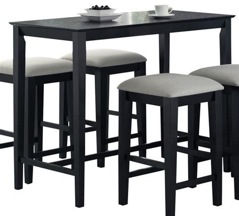 rectangular bar height table monarch specialties 1919 rectangular counter height dining