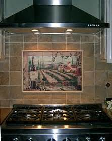 Tile Murals For Kitchen Backsplash by Tile Mural Kitchen Backsplash