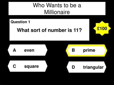Ppt Who Wants To Be A Millionaire Powerpoint Who Wants To Be A Millionaire Powerpoint With