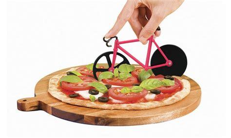 Pizza Base D 11cm rotella tagliapizza a forma di bici groupon goods