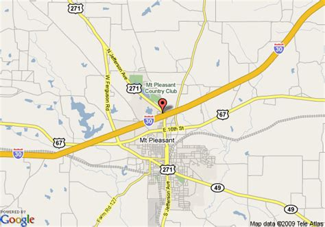 map of mount pleasant texas map of 8 motel mt pleasant mount pleasant