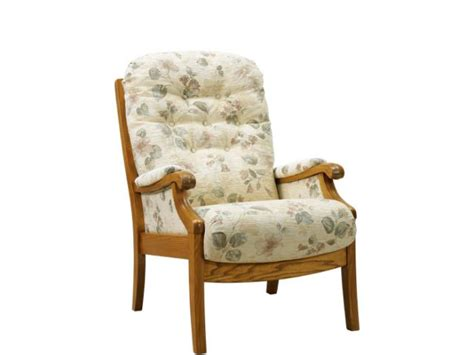 Cintique Armchair cintique winchester high sit armchair with side panels armchairs elphicks of huntingdon