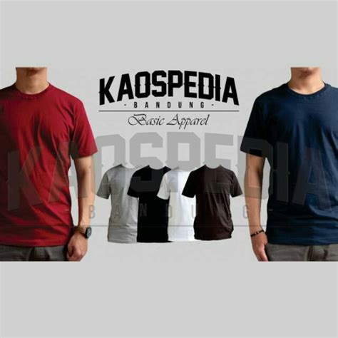 Kaos Polos Cotton Combed 30s Uk Xl kaos polos grosir 100 cotton combed 30s bandung size xl