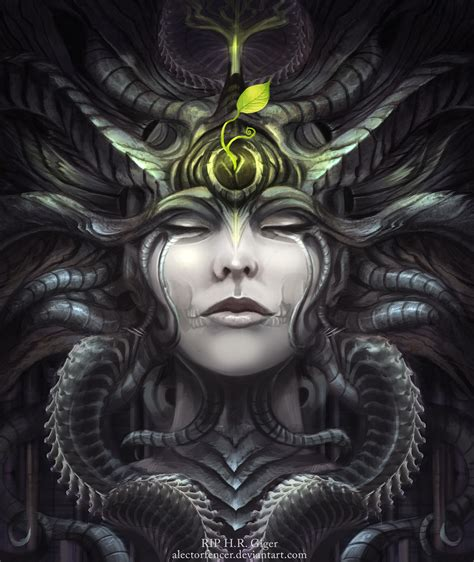 r i p hr giger by alectorfencer on deviantart
