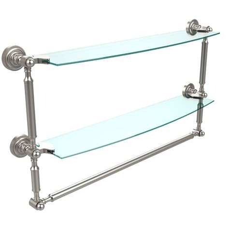 How Much Weight Can A Glass Shelf Hold by Closetmaid Shelftrack 24 42 In W Nickel Adjustable Shoe