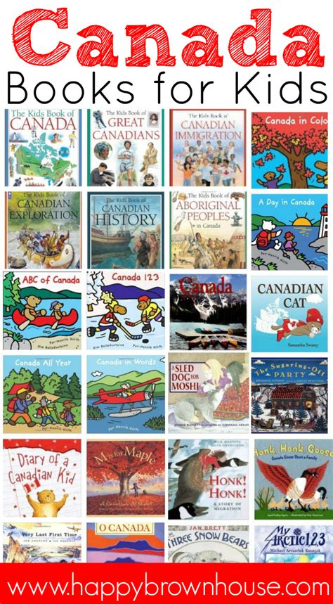 my picture book canada canada books for happy brown house