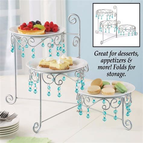 buffet plate stand 3 tier chandelier buffet display stand dessert cake plate