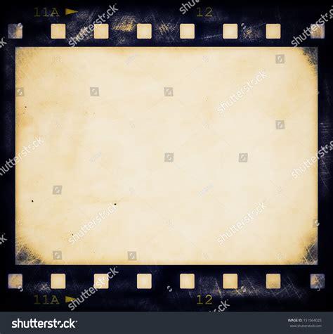 aged wallpaper with film strip border stock illustration blank old grunge film strip frame stock illustration