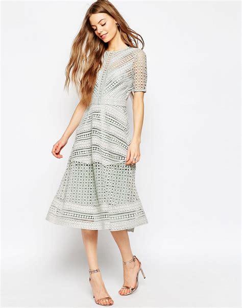 Sale Dress 2798 Brokat Fit Xl shoptagr asos premium occasion lace midi dress by asos