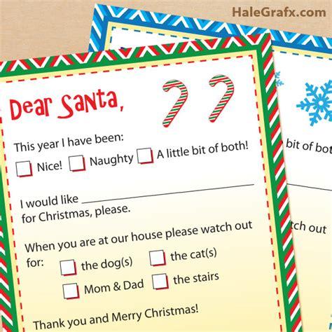 printable santa claus letters dear santa letters free printable letters to santa claus