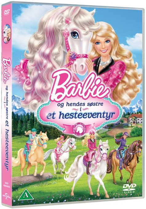 film barbie norsk barbie og hendes s 248 stre i et hesteeventyr dvd film