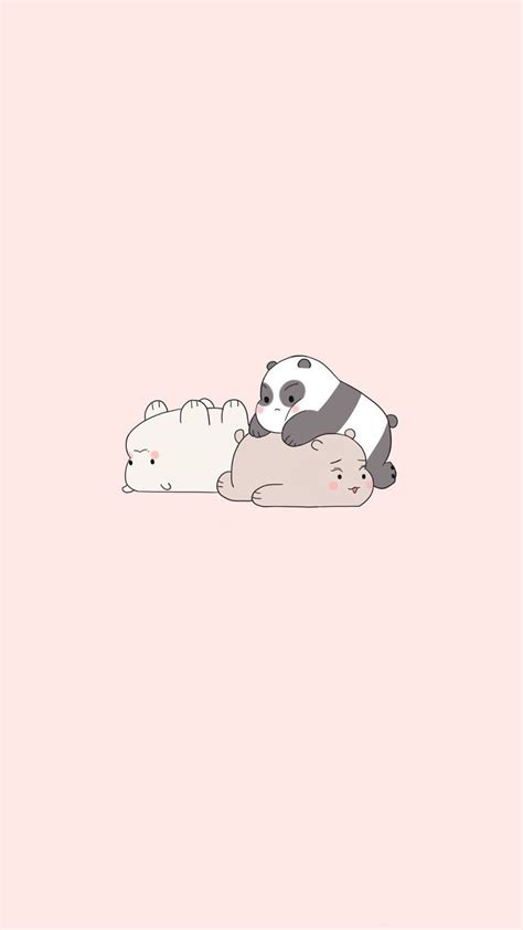 cute iphone wallpapers wallpapers  bare bears