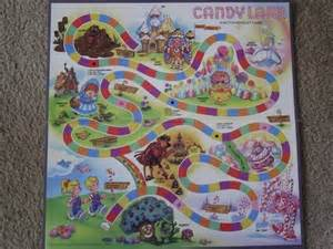 Candyland Board Template by Candyland Board Template