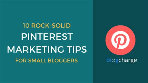 10 pinterest marketing tips for small bloggers and