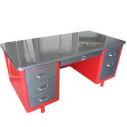 Retro Office Desk Steelcase Vintage Steel Tanker Desk Vintage Desk Stainless Steel Desk