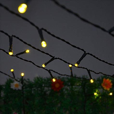 how long of a light string for a 6 ft christmas tree inst solar powered lasting led string light ambiance lighting 54 5ft 17m 100 led solar