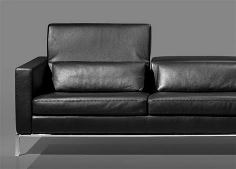Chicago 3 Seat Leather Sofa Loveseats Sofa Go Modern