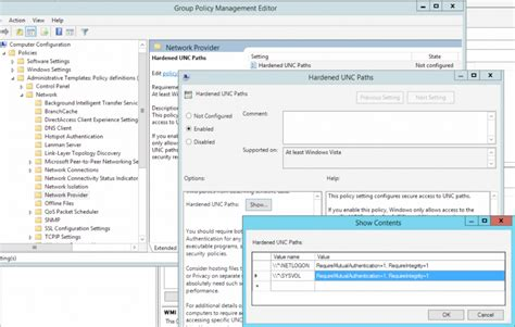 ms  vulnerability  group policy   remote