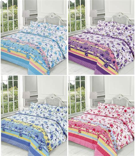 Printed Quilt Covers by Blossom Printed Duvet Quilt Cover Bedding Set Linenstar