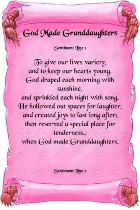 Wedding Blessing From Grandparents by God Made Granddaughters Grandparenting 101
