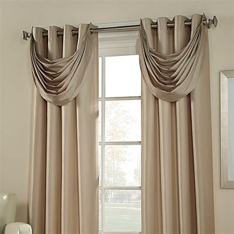 waterfall curtain valance buy argentina room darkening waterfall valance from bed