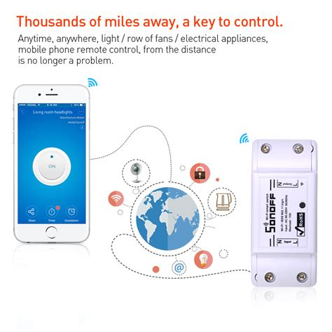 smartphone controlled light switch smartphone controlled switch broadlink smart home