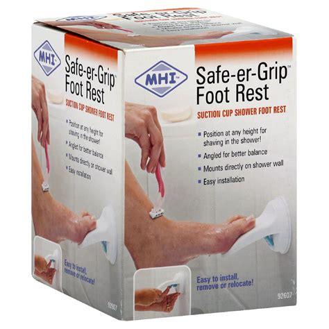 Safe Er Grip Portable Shower Arm by Mhi Safe Er Grip Shower Arm Portable 1 Arm Health