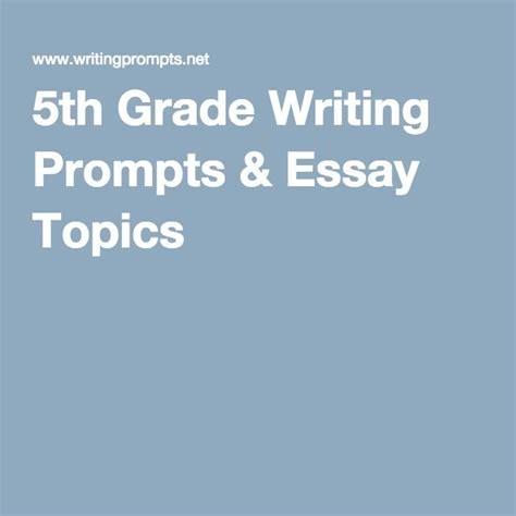 5th Grade Essay Writing by 17 Best Ideas About 5th Grade Writing Prompts On 3rd Grade Writing Prompts Journal