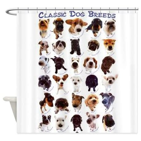 dog curtains shower curtains fabric shower curtains bathroom shower