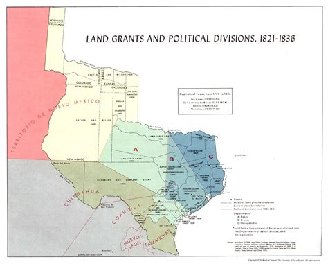 texas land grants map texas historical maps perry casta 241 eda map collection ut library