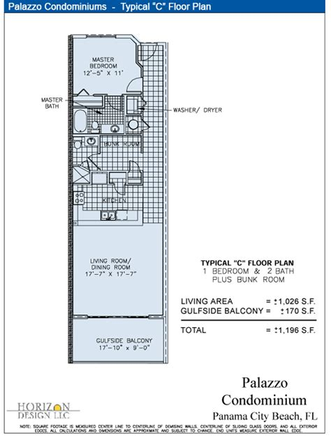 c floor plans palazzo condominiums typical quot c quot floor plan