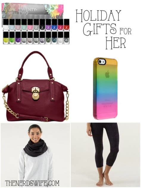 christmas ideas for her christmas gift ideas for her the nerd s wife