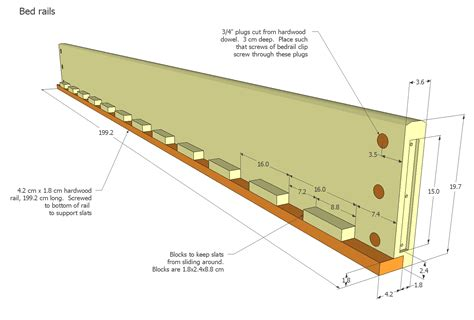 Bed Frame Wood Plans Size Bed Plans