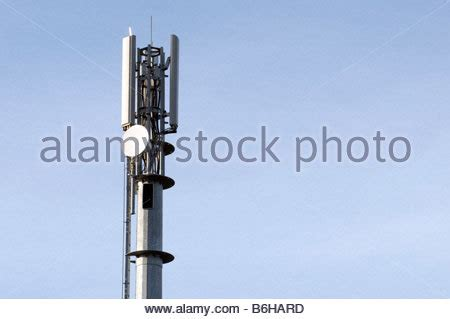 mobile cell phone mast network base station aerial antenna masts stock photo 21275539 alamy