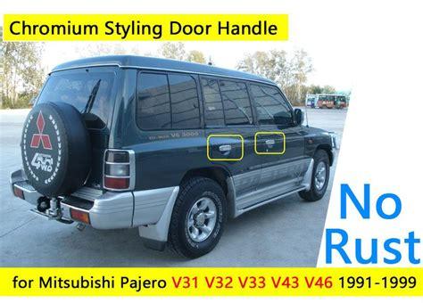 Sticker Handle Mitsubishi 2017 exterior accessories car stickers for mitsubishi