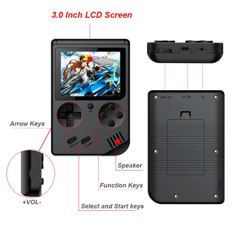 console 8 bit console 8 bit retro mini pocket handheld